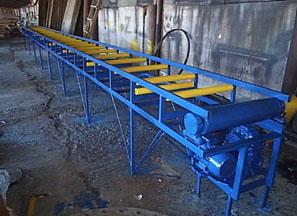 Конвейеры на базе ленточных транспортеров