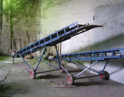 Прямые передвижные конвейеры